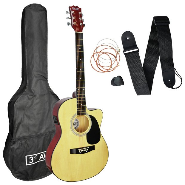 Buy 3rd Avenue Full Size Electro Acoustic Guitar And Accessories Electric Guitars Argos