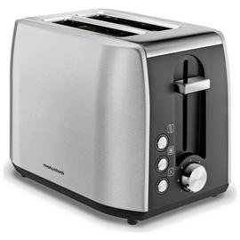 Morphy Richards 222057 Equip 2 Slice Toaster - S/Steel Best Price, Cheapest Prices
