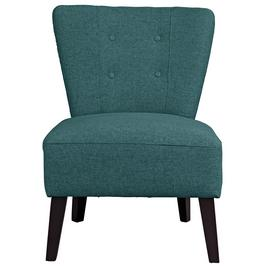Argos Home Delilah Fabric Cocktail Chair - Teal