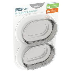 Surefeed Stainless Steel Bowl Set