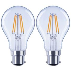 Argos Home 4W LED BC Light Bulb - 2 Pack