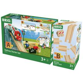 BRIO World Railway Starter Set & Track Pack