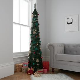 Argos Home 6ft Pop Up Christmas Tree - Green