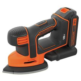 Black + Decker Cordless Mouse Detail Sander - 18V