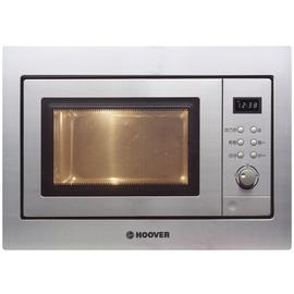 Hoover HMG201X 60cm Wide Built-in Microwave Oven and Grill - Stainless Steel