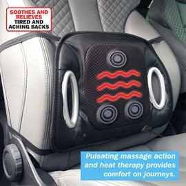 Streetwize Heated Lumbar Massage Cushion