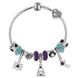 Disney Aladdin Crystal Made Up Bracelet