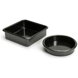 Argos Home 2 Piece Non-Stick Cake Tins
