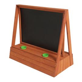 Chad Valley Wooden Easel with Blackboard