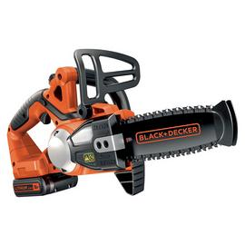 Black + Decker 20cm Cordless Chainsaw - 18V