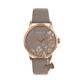 Radley Ladies Grey Leather Strap Watch
