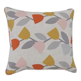 Argos Home Geometric Cushion - Floral