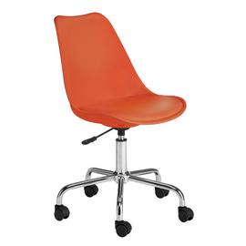 Habitat Ginnie Office Chair - Orange