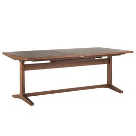 Habitat Parker Extending 8-12 Seater Dining Table - Walnut