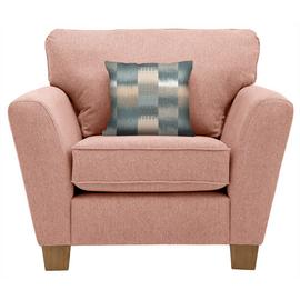Argos Home Auria Fabric Armchair - Pink