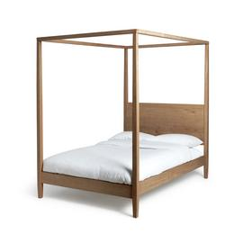 Argos Home Blissford Four Poster Double Bed Frame - Pine