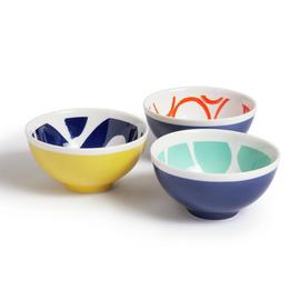 Habitat Mix it up Set of 3 Nibble Bowls