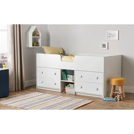Argos Home Jackson White Mid Sleeper Bed