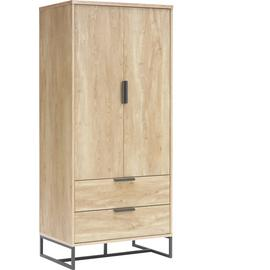 Argos Home Nomad 2 Door 2 Drawer Wardrobe - Light Oak