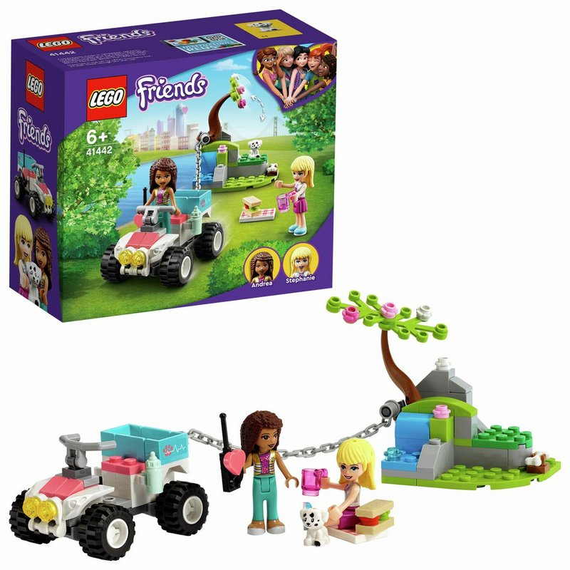 LEGO Friends Vet Clinic Rescue Buggy Quad Bike Playset 41442 from Argos