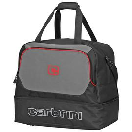 Carbrini Medium Black and Grey Holdall