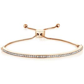 Buckley London Portobello Rose Colour Crystal Bracelet