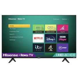 Hisense Roku 43 Inch R43A7200UK Smart 4K HDR LED Freeview TV