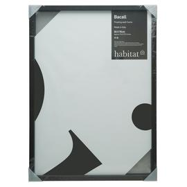 Habitat Bacall 50 X 70cm/20 X 28inch Black Picture Frame