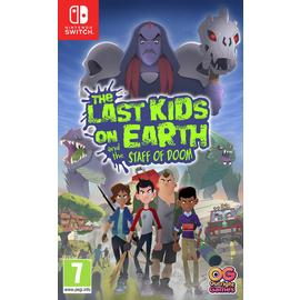 The Last Kids On Earth & The Staff Of Doom Switch Pre-Order