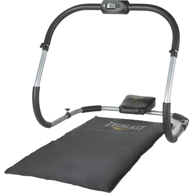 Gym Mats Argos: Buy Everlast Ab Roller With Mat And Computer