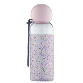 Doin it for the Gram Drink Bottle with Glitter Silicone Wrap