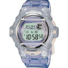 Casio Baby-G Ladies' Lilac LCD Watch