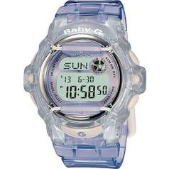 e36e807f1dc46 Casio Baby-G Ladies  Lilac LCD Watch