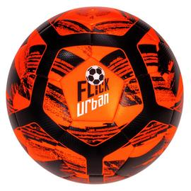 Football Flick Urban Size 4 Football - Orange and Black
