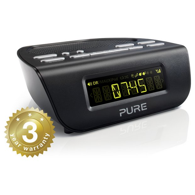 internet radio alarm clock uk revo pixis rs dab and wifi internet radio alarm clock ocean. Black Bedroom Furniture Sets. Home Design Ideas