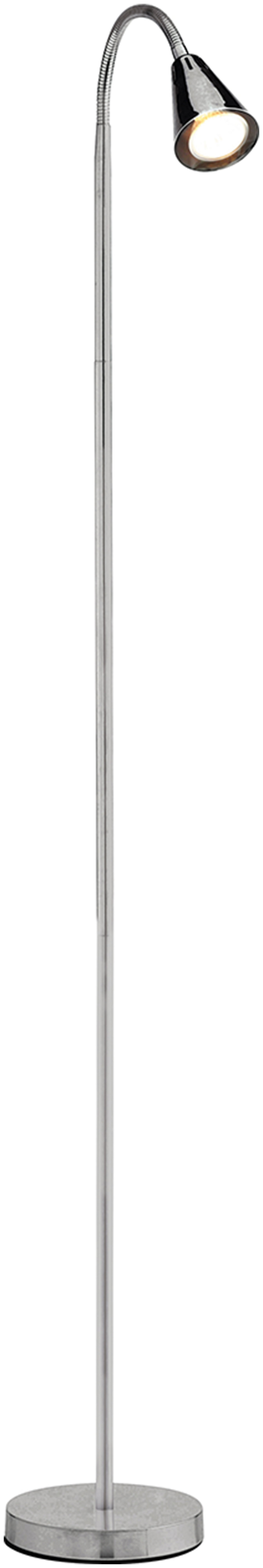 collection reading light floor lamp chrome