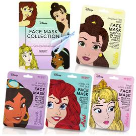 Disney Princess 4 Piece Face Mask Collection