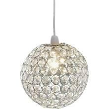 Argos Home Crystal Globe Shade - Clear