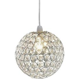 Argos Home Crystal Globe Shade - Clear
