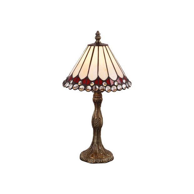 Buy Collection Tiffany Style Jewel Table Lamp