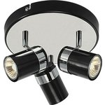 more details on Collection Shiro 3 Spotlight Plate - Black and Chrome.