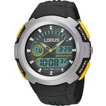 more details on Lorus Men's Dual Time Watch.
