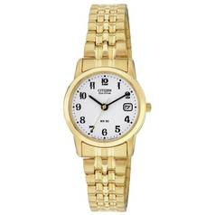 Citizen Ladies' Eco-Drive Gold Tone Expander Bracelet Watch