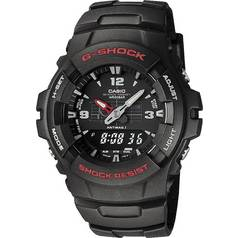 G-Shock by Casio Men's Black Combi Watch