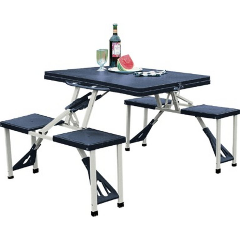 Buy Folding Picnic Table And Stools At Argos Co Uk Your