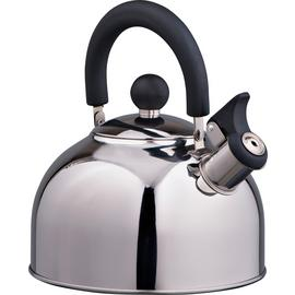 Vango Stainless Steel Whistling Camping Kettle - 2 Litre
