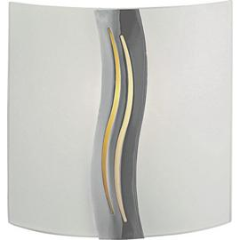 Argos Home Oasis Frosted Glass Wall Light