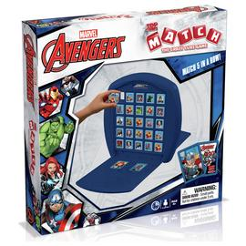 Top Trumps The Crazy Cube Game Marvel Avengers Assemble