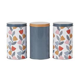 Argos Home Apartment Apparel Storage Tins - 3 Pack