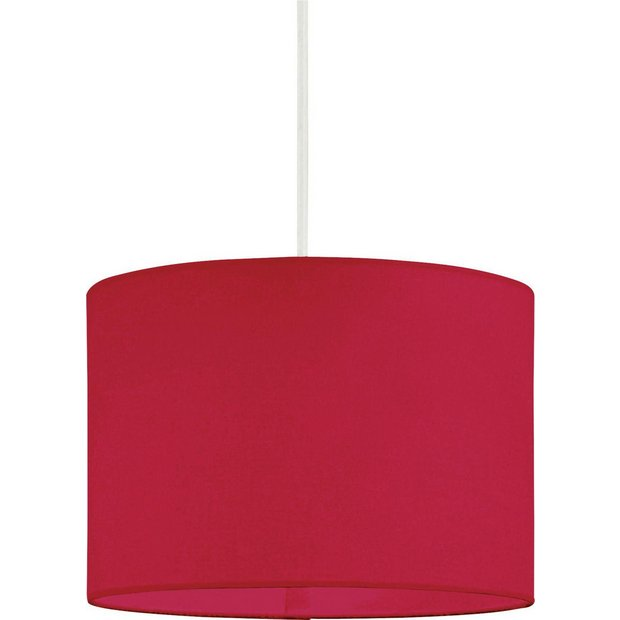 Buy Colourmatch Fabric Shade Poppy Red At Argos Co Uk